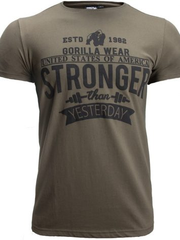 Gorilla Wear Hobbs T-shirt – army