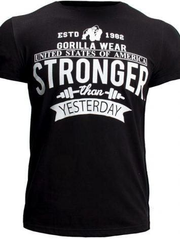Gorilla Wear Hobbs T-shirt – Black