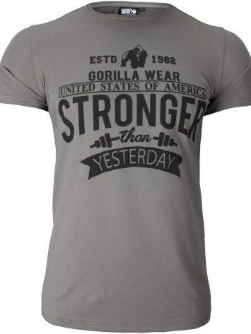 Gorilla Wear Hobbs T-shirt – gray
