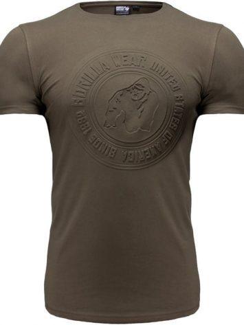 Gorilla Wear San Lucas T-shirt – Army/Green