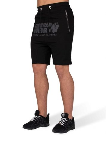 Gorilla Wear Alabama Drop Crotch Shorts – Black