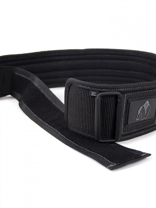 Gorilla Wear 4 Inch Nylon Belt - Black