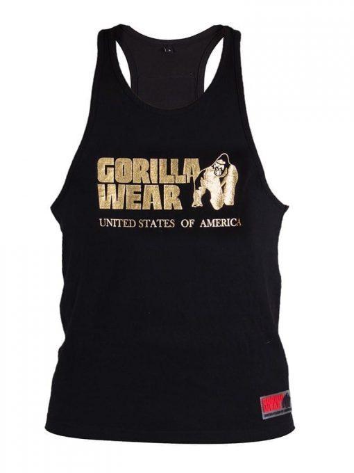 Gorilla Wear Classic Tank Top - Gold/Black
