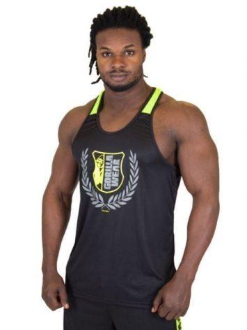 Gorilla Wear Lexington Tank Top – Yellow Neon