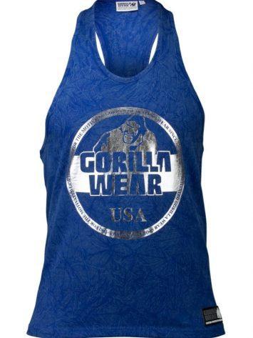 Gorilla Wear Mill Valley Tank Top – Blue