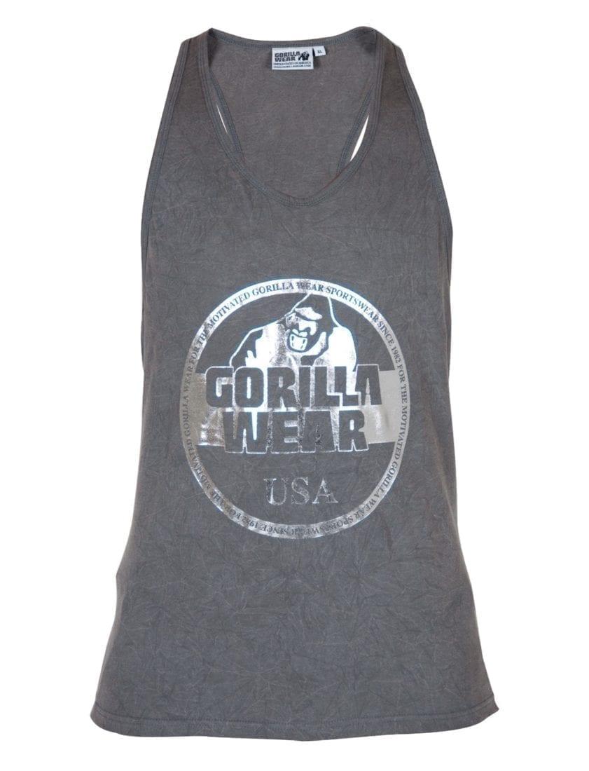 Gorilla Wear Mill Valley Tank Top - Gray