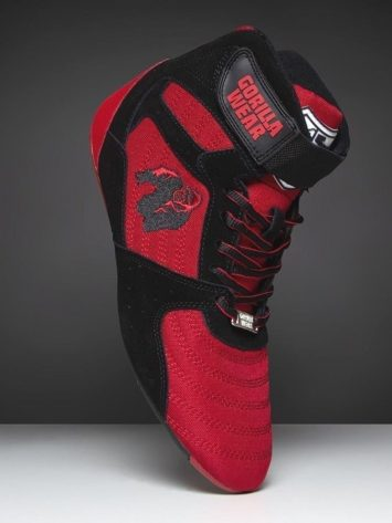 Gorilla Wear Perry High Tops Pro – Red/Black