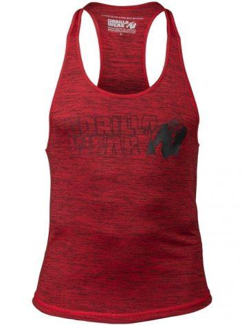 Gorilla Wear Austin Tank Top – Red/Black