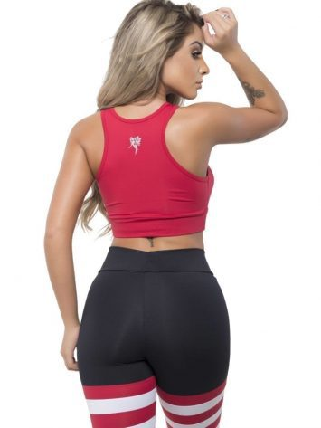 BFB Activewear Tank Top Top Essential Red