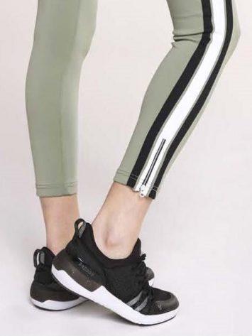 Freddy Fitness Footwear – Black/White Feline Skinair Active Breathability Sport Shoe