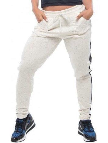 BFB Activewear Jogger Trousers Leggings – Bone White