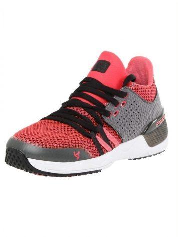 Freddy Fitness Footwear – Feline Skinair Active Breathability Sport Shoe – Black/Pink