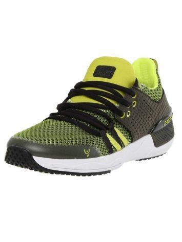 Freddy Fitness Footwear – Feline Skinair Active Breathability Sport Shoe – Black/Yellow