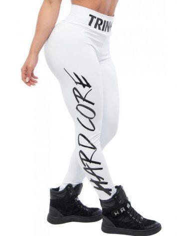 BFB Activewear HardcoreLeggings – White