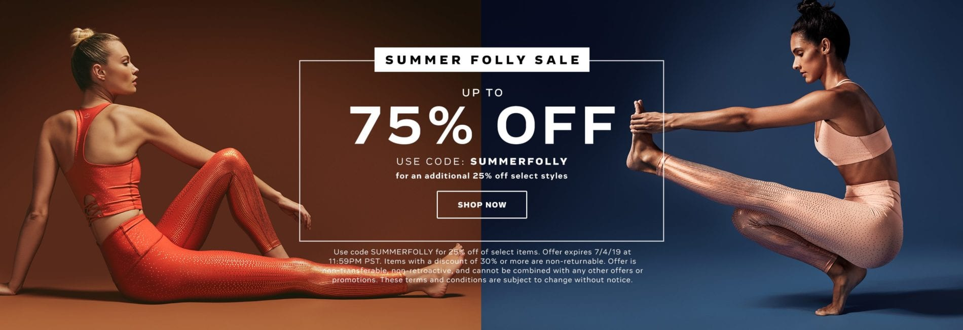Summer Sale up to 75% off