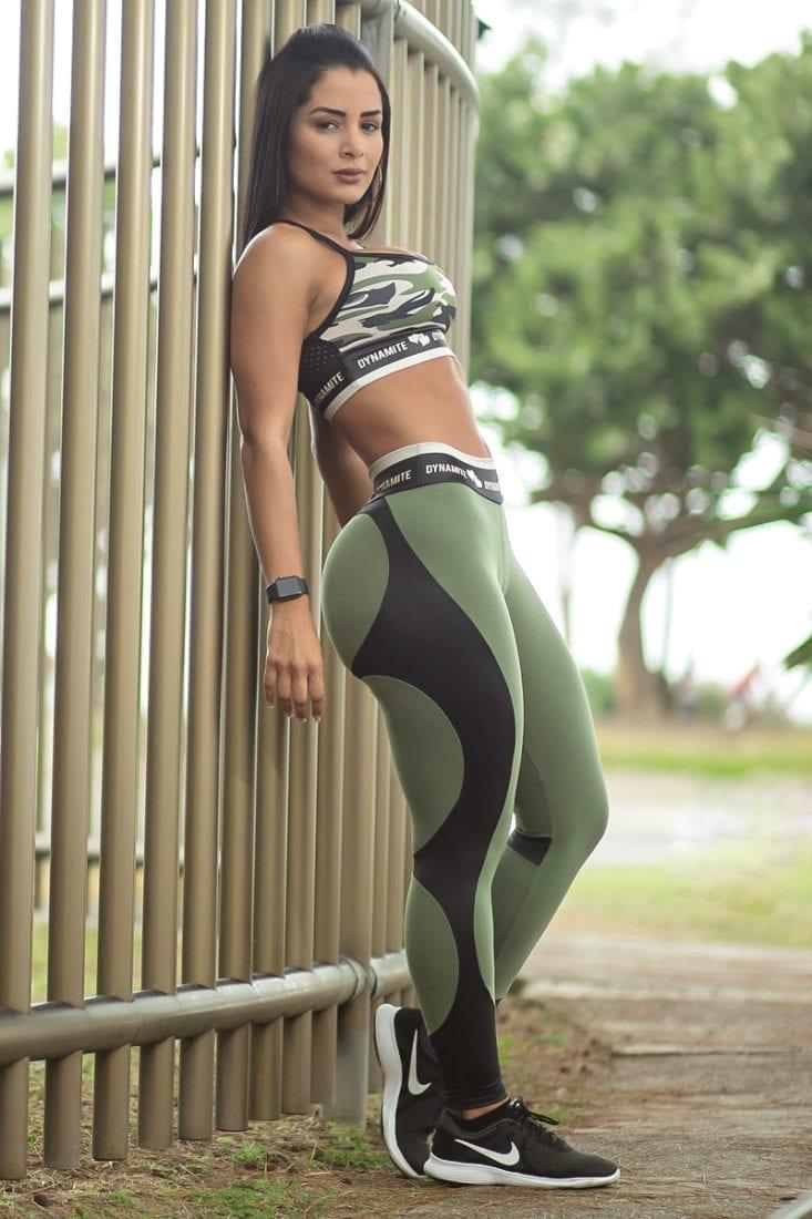 DYNAMITE Brazil Leggings L2094 Apple Booty Horus - Sexy Workout Leggings