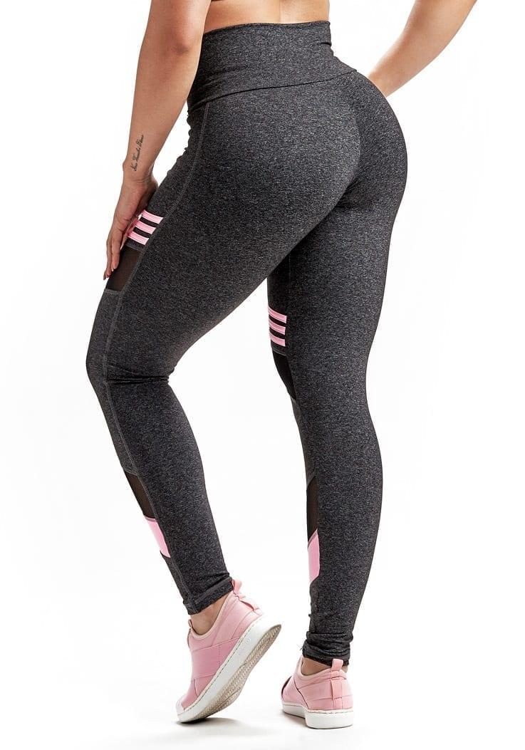 Leggings Loop 64240 Charcoal Heather - Sexy Workout Leggings
