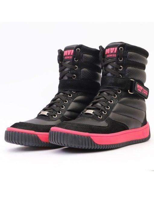 MVP Boot Fashion Sneakers - Black Pink