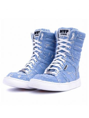 MVP Fitness Boot Training 70122 Destroyed Blue Sneakers