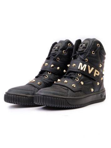 MVP Fitness Hard Skull 70107 Bright Black Sneakers