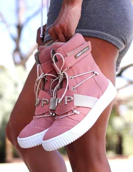 MVP Fitness 70125 Street Hard Tennis Shoes - Guava