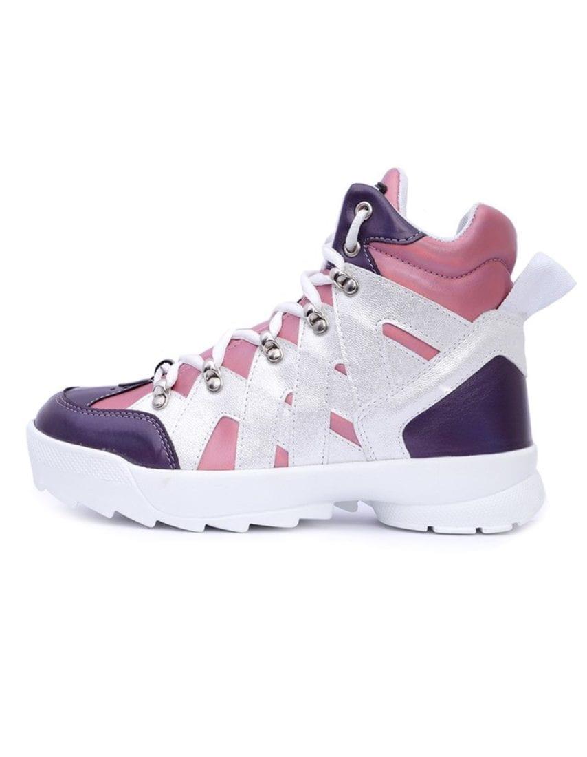 MVP Fitness Shark Fit Sneakers - Pink/Violet