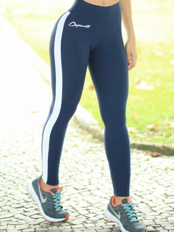 DYNAMITE BRAZIL Leggings L2012 Tunner Navy -Sexy Workout Leggings