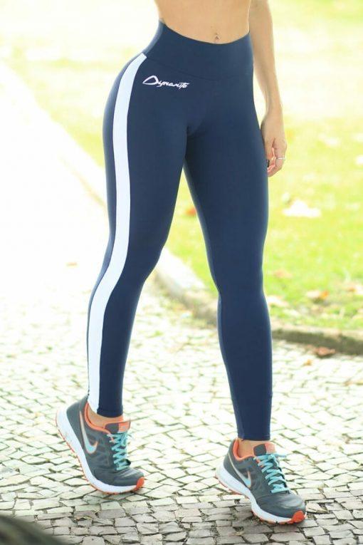 DYNAMITE BRAZIL Leggings L2012 Tunner Navy -Sexy Workout Leggings