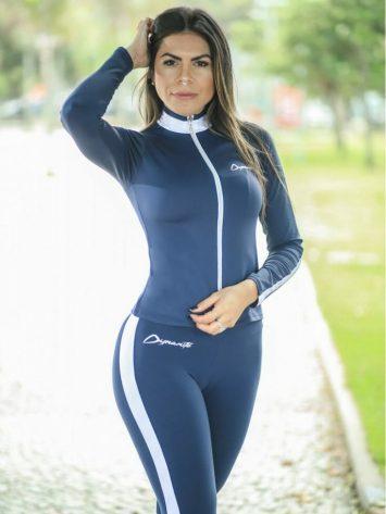 DYNAMITE BRAZIL Jacket Argon CA502 – Sexy Workout Long Sleeve Jacket
