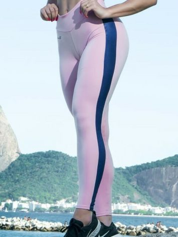 DYNAMITE BRAZIL Leggings L2012 Peach Rosa Blue