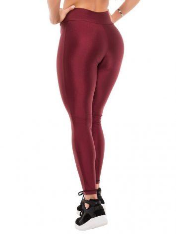BFB Activewear Leggings Glow Cirre – Marsala
