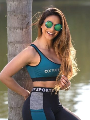 Oxyfit Sports Bra Top Active 27240 Petroleum