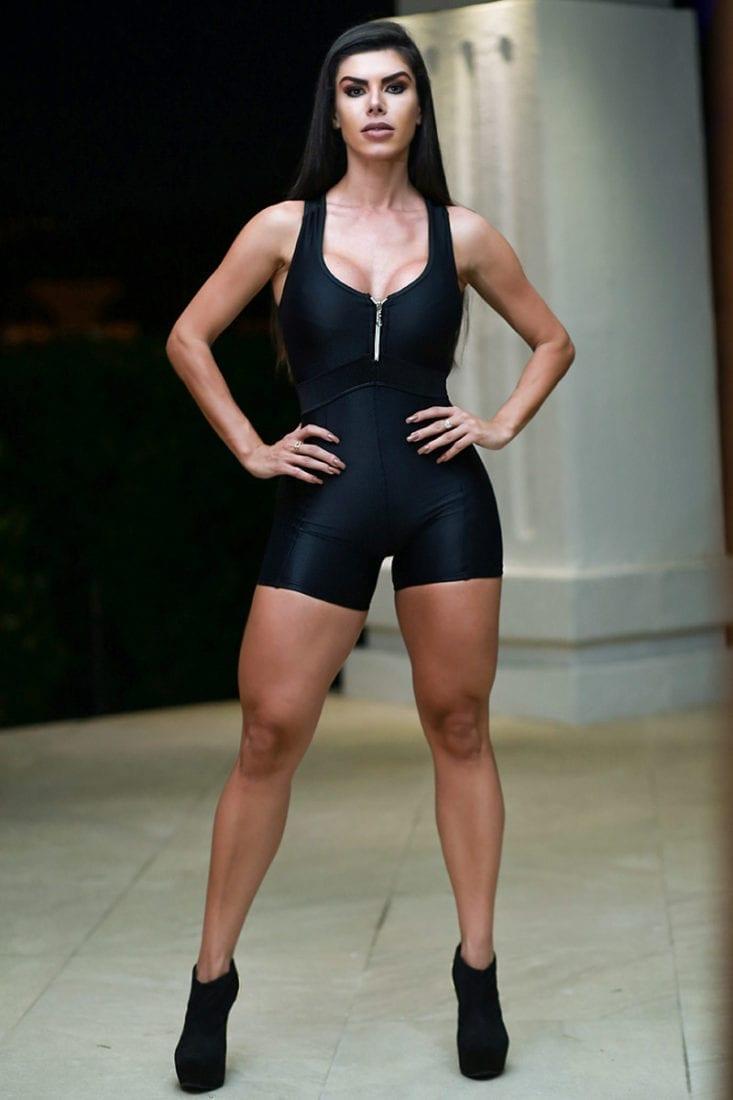 DYNAMITE Brazil Jumpsuit MS2092 - Unneples - Black