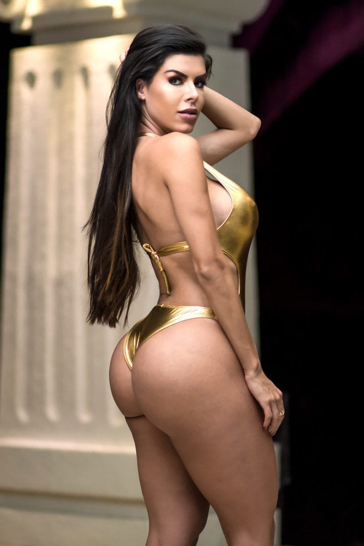 DYNAMITE Brazil Bikini - Body Bayar - B02002- Gold