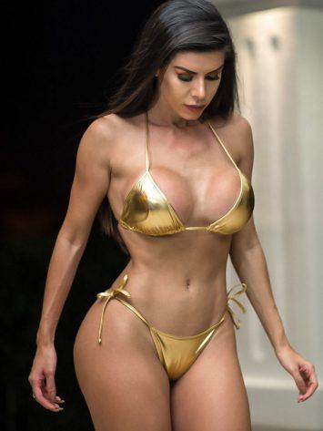 DYNAMITE Brazil Bikini – B222 – Gold