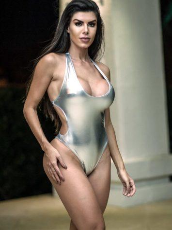 DYNAMITE Brazil Bikini – Body Bayar – B02002- Platinum