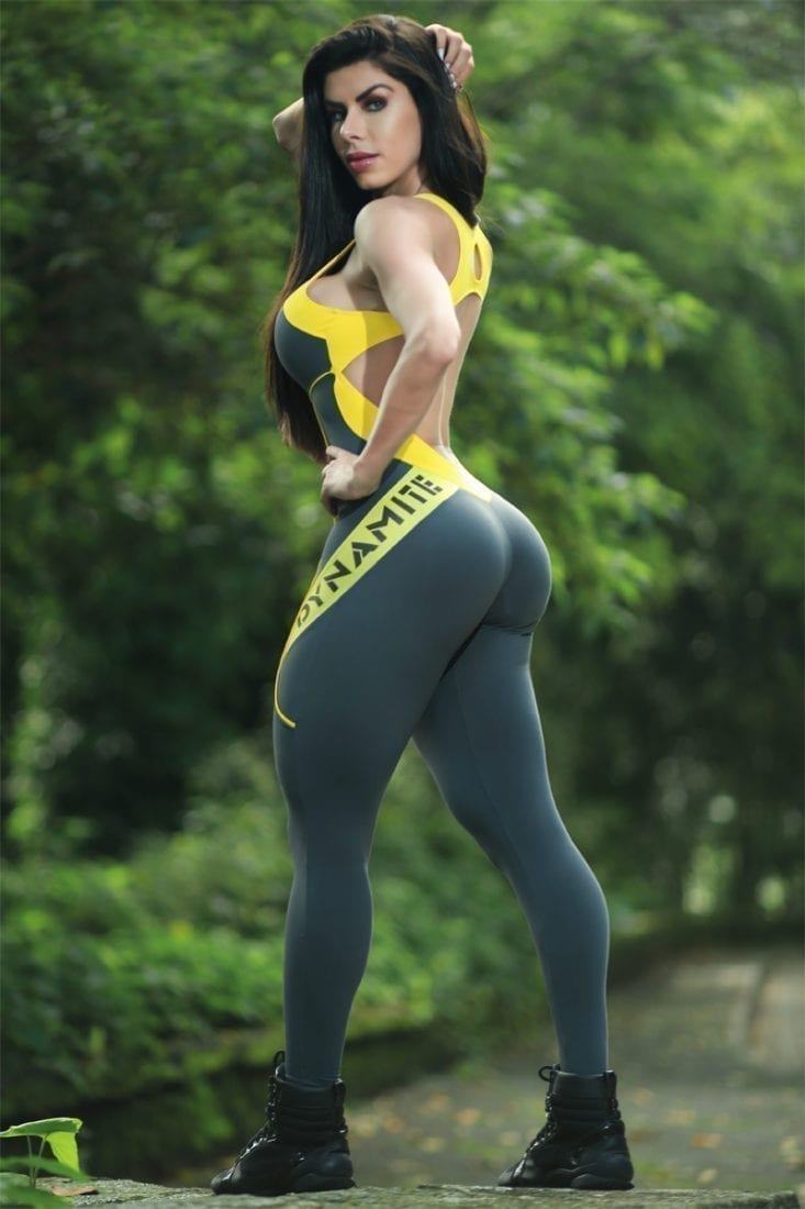 DYNAMITE BRAZIL Jumpsuit ML2018 Fitness Manipulator