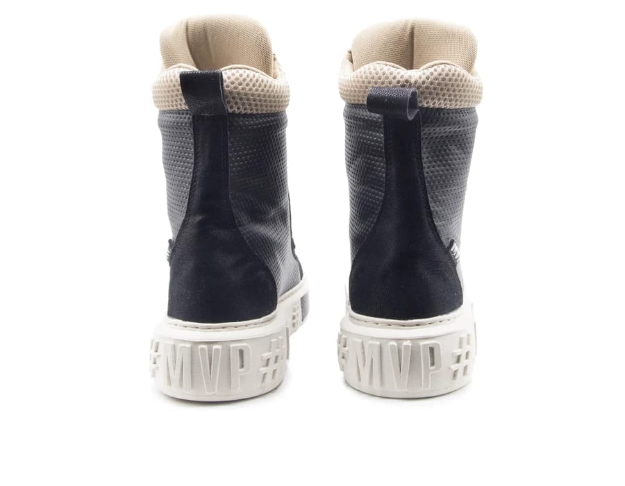 MVP Fitness Boot Easy Sneakers - 70142 - Black/Cream