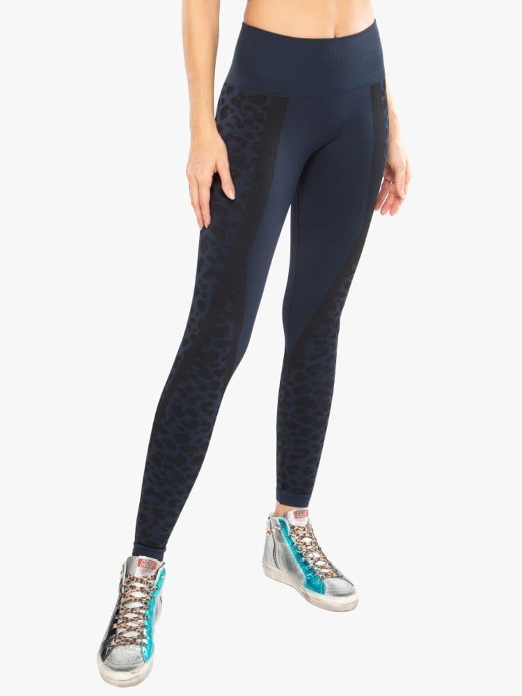 Koral Calca Seamless Legging High Rise – Black/Navy Blazer