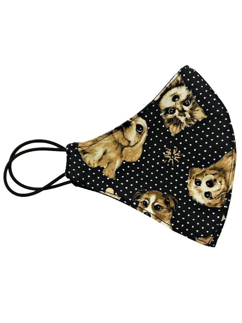 Dynamite Brazil Face Mask - Double sided Tricoline Cotton - Laika Dog