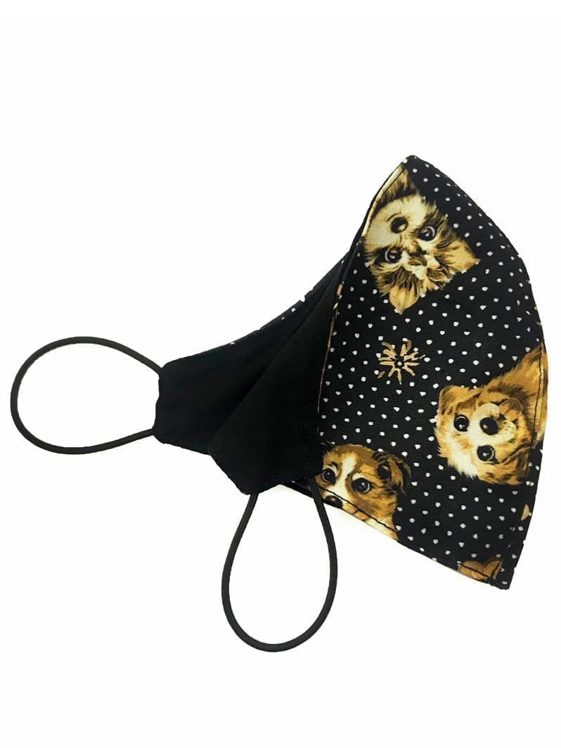 Dynamite Brazil Face Mask – Double sided Tricoline Cotton – Laika Dog