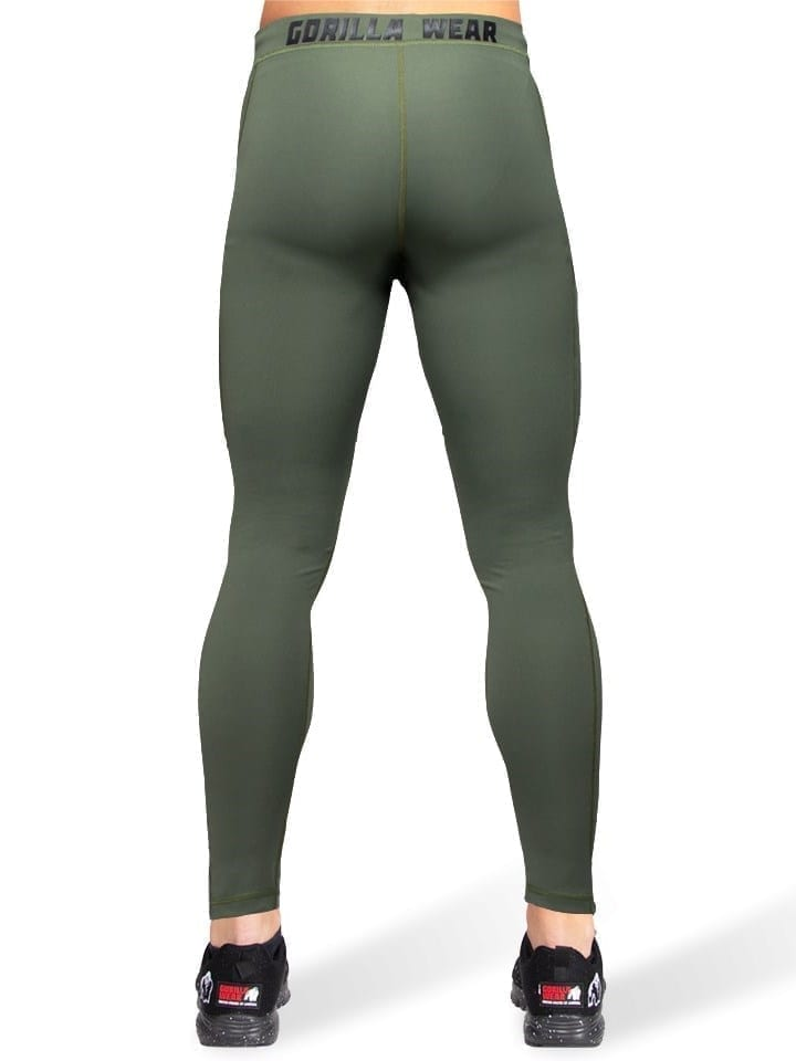 Gorilla Wear Smart Tights - Army Green