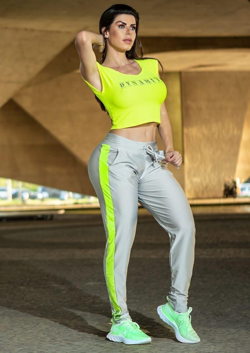 DYNAMITE BRAZIL Dangan Pants - Gray