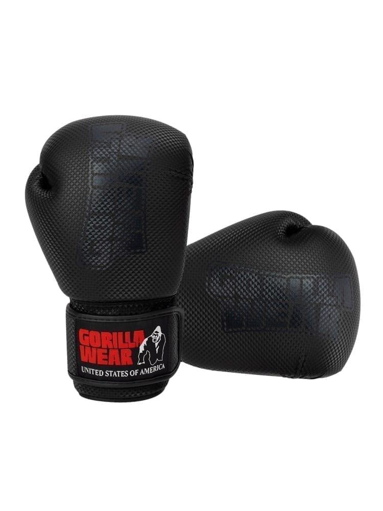 Gorilla Wear Montello Boxing Gloves - Black