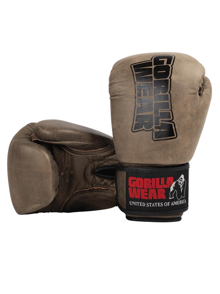 Gorilla Wear Yeso Boxing Gloves - Vintage Brown