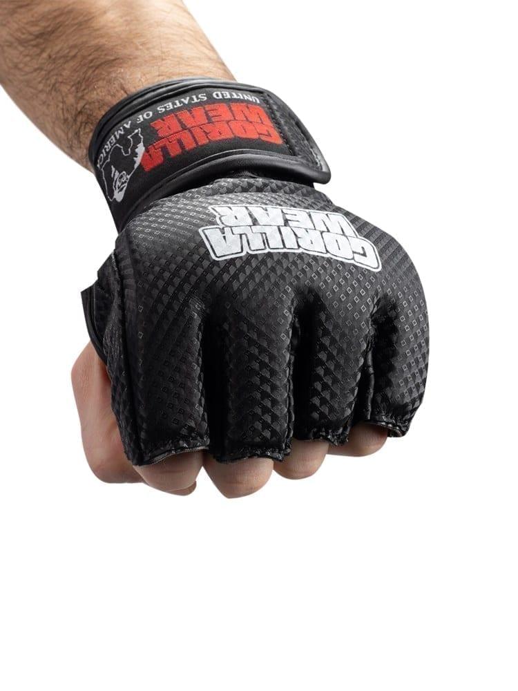 Gorilla Wear Berea MMA Gloves (w/o thumb) – Black