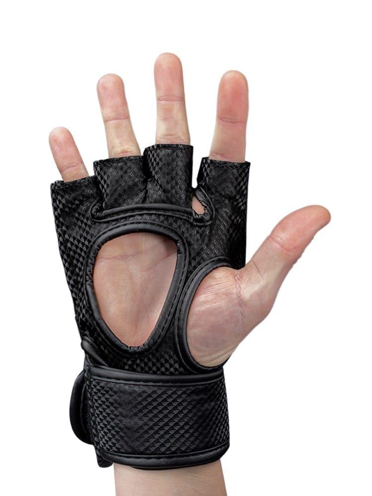 Gorilla Wear Berea MMA Gloves (without thumb) - Black