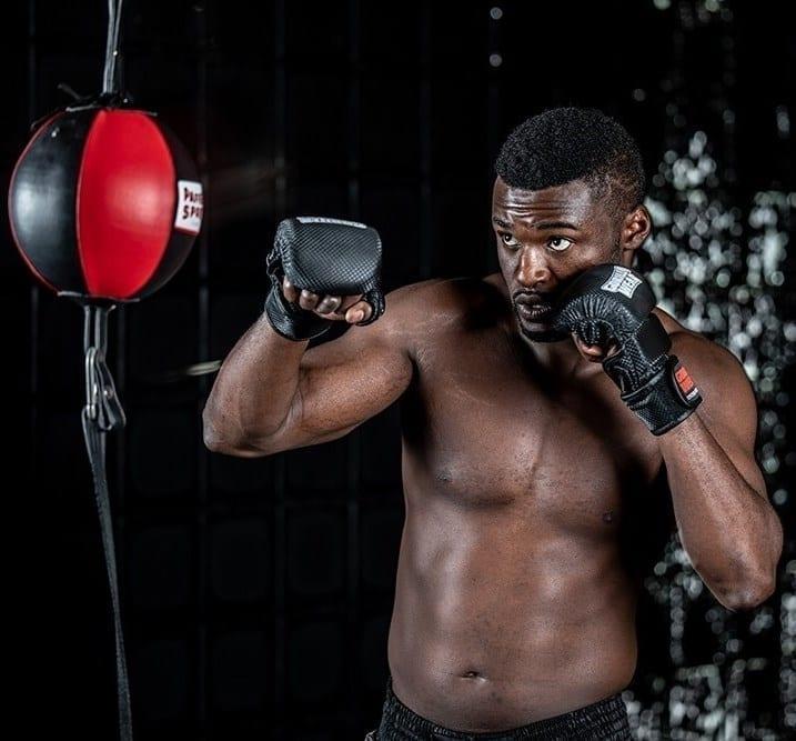 Gorilla Wear Ely MMA Sparring Gloves - Black