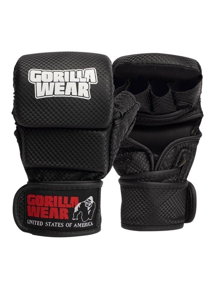 Gorilla Wear Ely MMA Sparring Gloves – Black