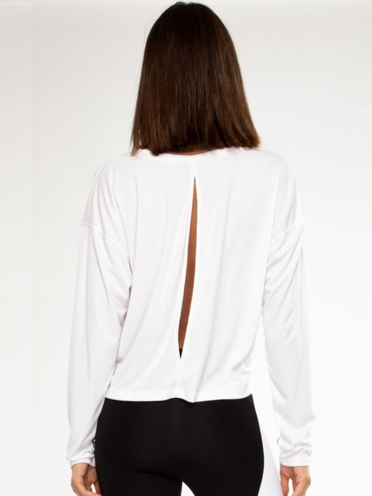 Koral Storm Marlo Long Sleeve Top - white
